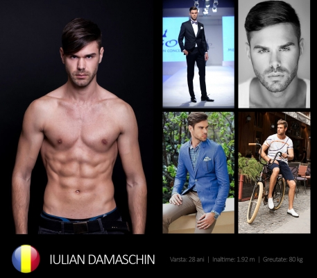 Iulian Damaschin - Mr. Romania